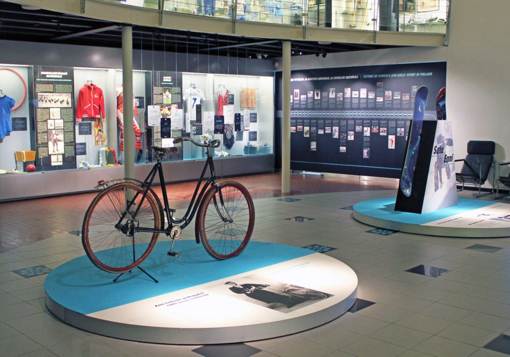 Urheilumuseon näyttely, Naisten voimaa 2014