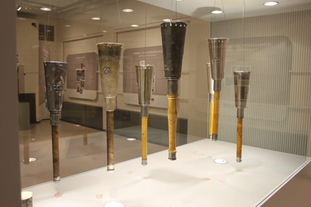 Urheilumuseon näyttely Soihtu saapuu! – Helsingin olympiakisojen 1952 soihdut ja soihtuviesti 2012