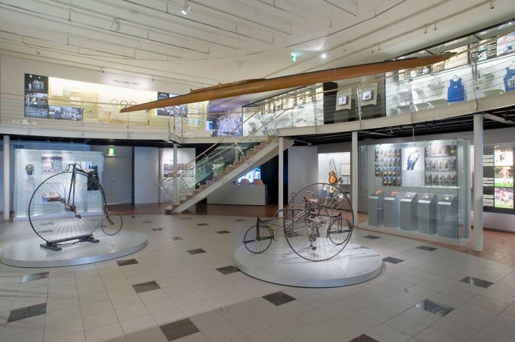 Urheilumuseon uudistettu näyttely 2007-2015