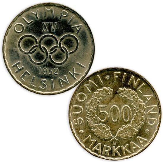 Helsinki 1952 olympiaraha, Urheilumuseo