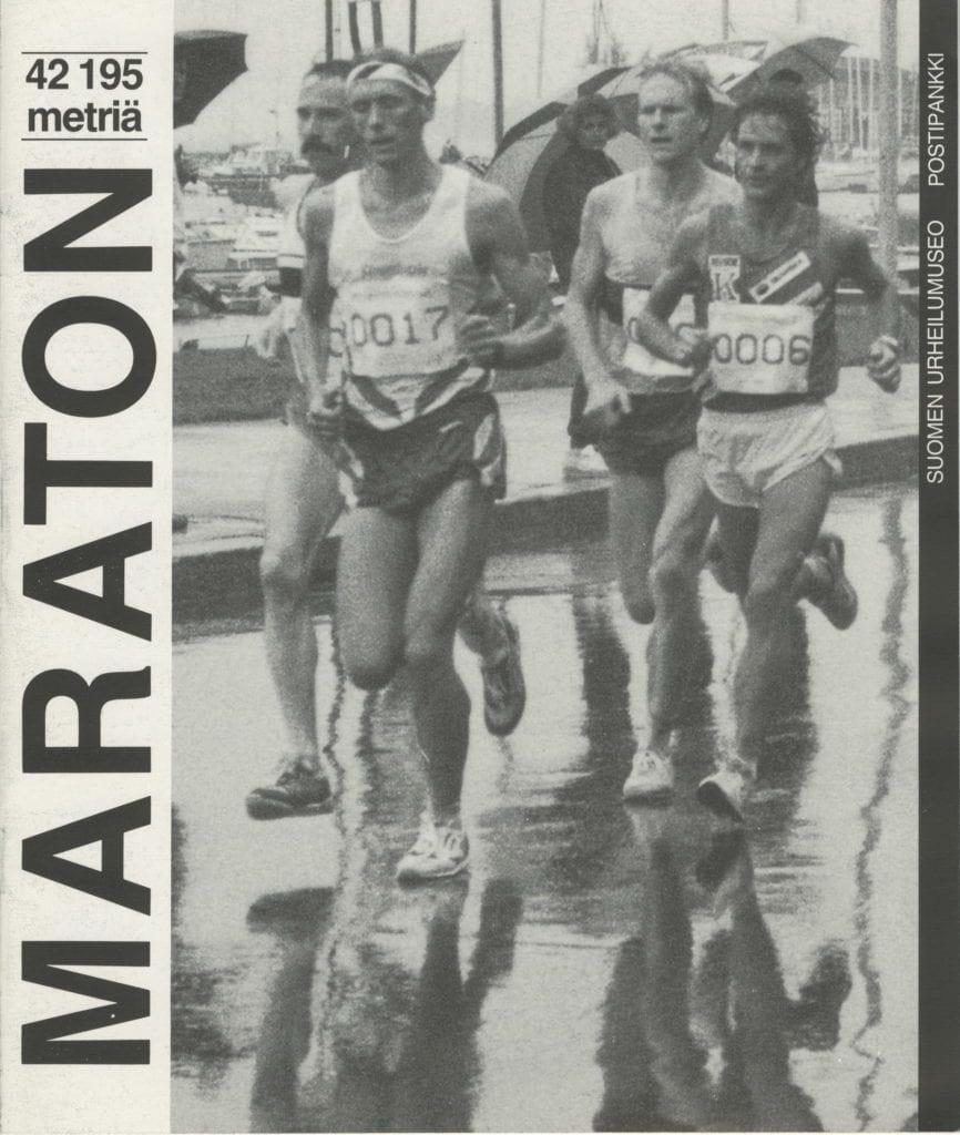 Urheilumuseosäätiön julkaisusarja, MARATON - 42 195 metriä