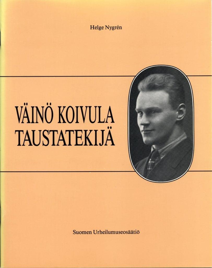 Urheilumuseosäätiön julkaisusarja: Väinö Koivula. Taustatekijä