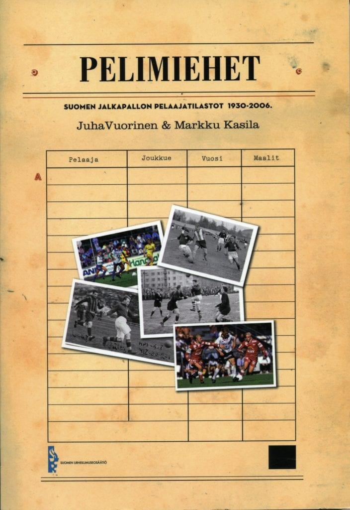 Urheilumuseosäätiön julkaisusarja: Pelimiehet
