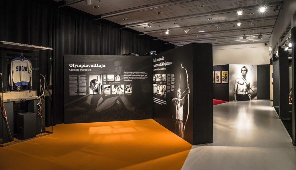 Urheilumuseo näyttelyt, 2015 Reissumies