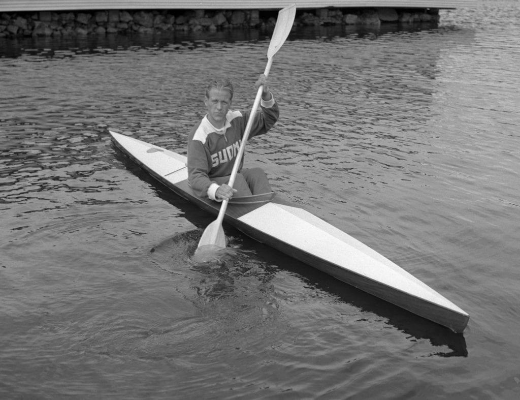 Thorvald Strömberg Helsingin olympialaisissa