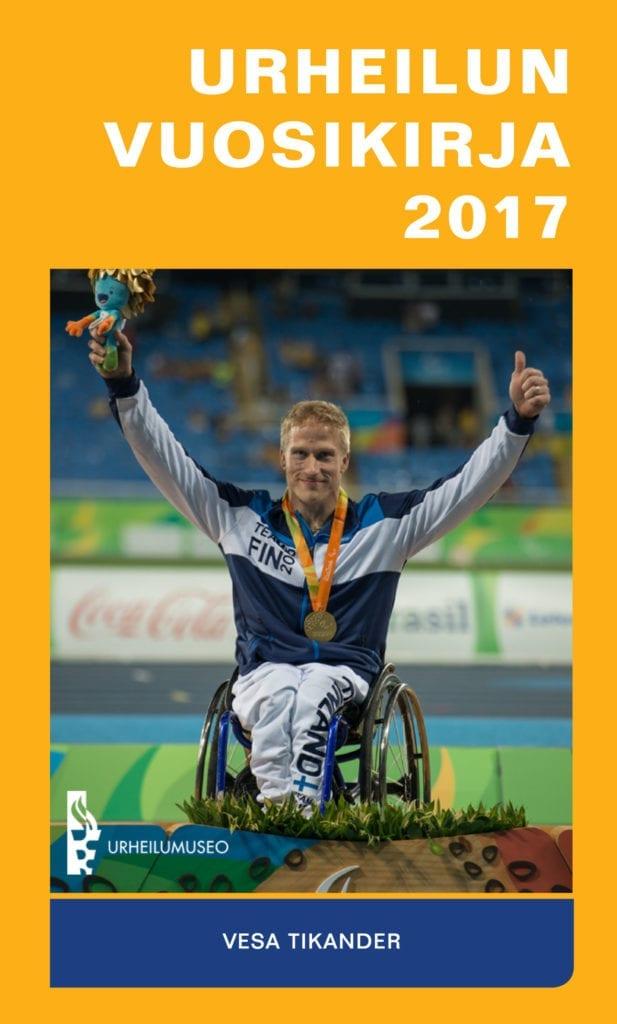 Urheilumuseosäätiön julkaisusarja: Urheilun vuosikirja 2017