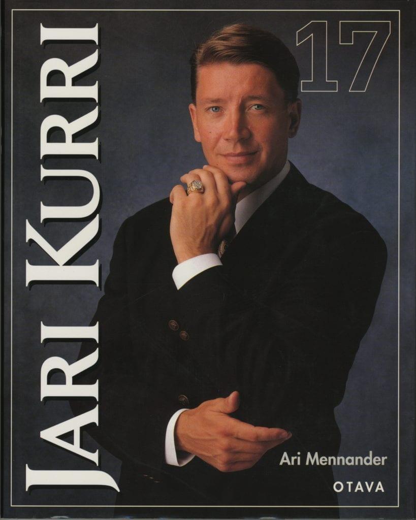 Vuoden urheilukirja 1997 Jari Kurri 17, Urheilumuseo