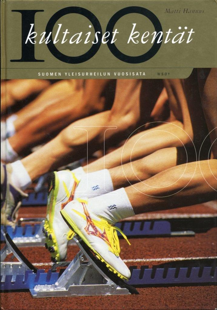 Vuoden urheilukirja 1999 Kultaiset kentät : Suomen yleisurheilun vuosisata, Urheilumuseo