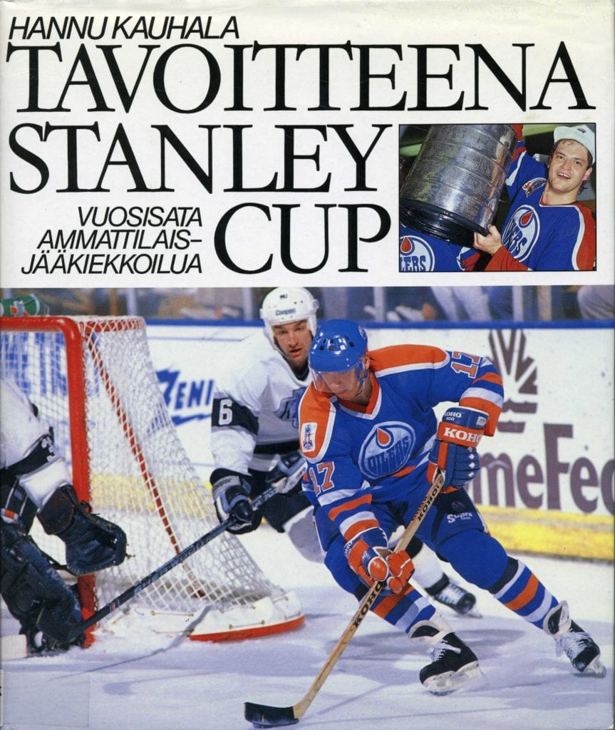 Vuoden urheilukirja 1990 Tavoitteena Stanley Cup, Urheilumuseo