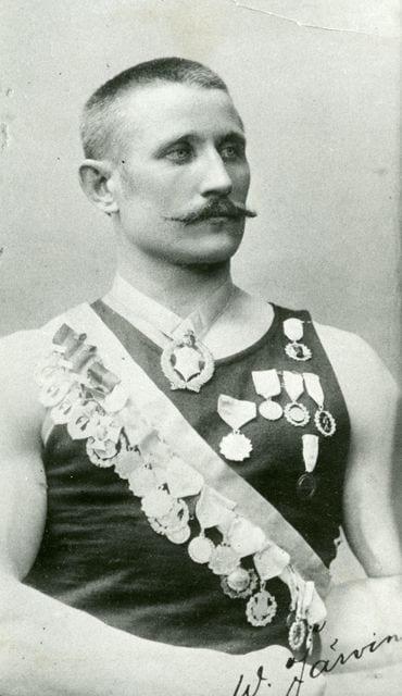 Suomen urheilun Hall of Fame Werner Järvinen Urheilumuseo