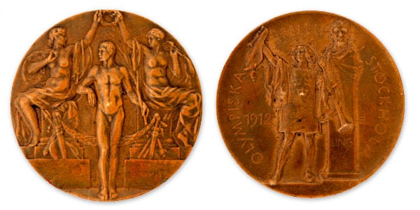 Stocholm-1912_Olympic bronze medal