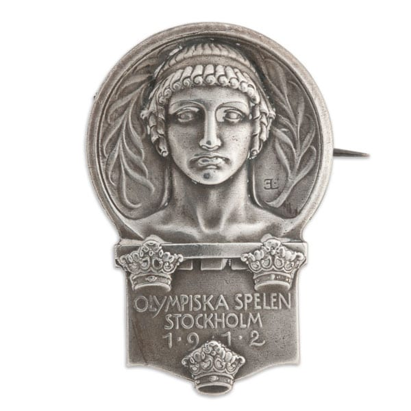 Stockholm-1912_Participant badge