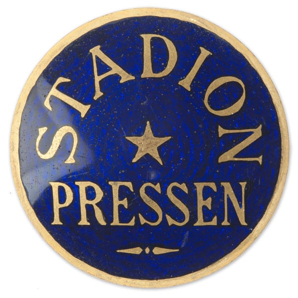 Stockholm-1912_Press badge