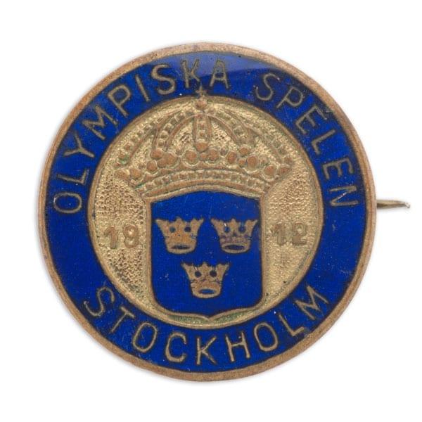 Stockholm-1912_Souvenir badge