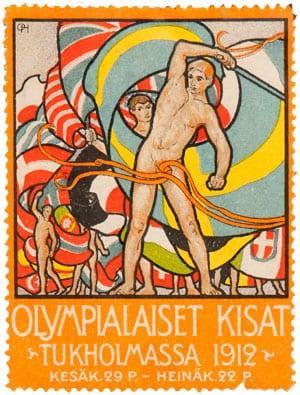 Stockholm-1912_Postage label
